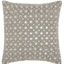 Beads Polyester Throw Pillow