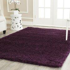 Ampthill Shag Purple Area Rug