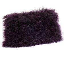 Valmont Lamb Fur Lumbar Throw Pillow