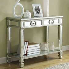 Ripley 2 Drawer Mirrored Console Table