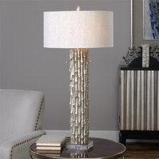 "Oliver 32.25"" H Table Lamp with Drum Shade"
