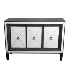 Southsea 3 Door Mirrored Accent Console