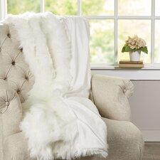Scunthorpe Acrylic / faux fur Throw Blanket