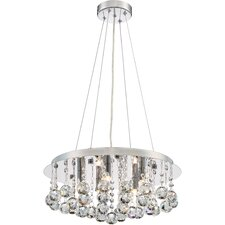 Toby 5 Light Crystal Pendant
