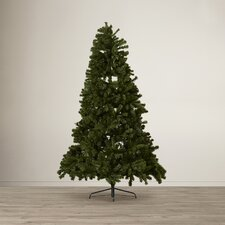7.6' North Valley Spruce Artificial Christmas Tree with 550 Clear Lights
