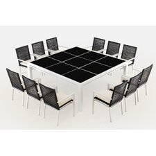 Ríco 13 Piece Dining Set with Cushions