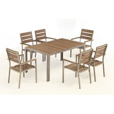 Bow 7 Piece Dining Set
