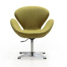 Raspberry Leisure Lounge Chair