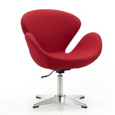 Swan Adjustable Wool Arm Chair