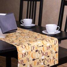 Chef Print Table Runner