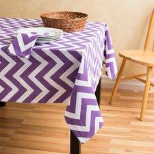 Chevron Square Cotton Tablecloth