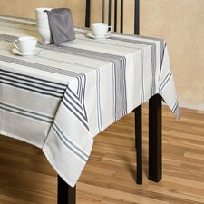 Granite Stripes Rectangular Cotton Tablecloth