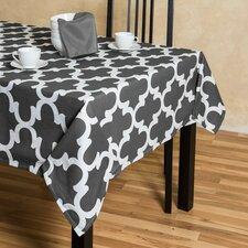 Trellis Rectangular Cotton Tablecloth