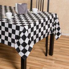Checker Board Rectangular Cotton Tablecloth