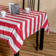 Stripes Rectangular Cotton Tablecloth