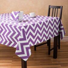 Chevron Rectangular Cotton Tablecloth