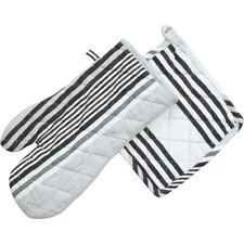 Granite Stripes Oven Mitt / Pot Holder