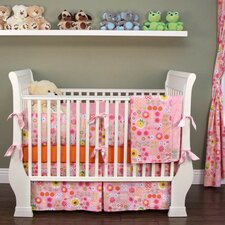 Daisy Dance 6 Piece Crib Bedding Set