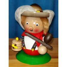 Steinbach Signed Bee Keeper German Chubby Incense Smoker