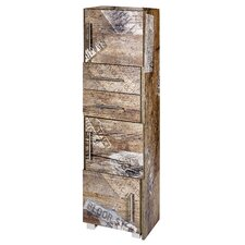 Dafina 68 x 133cm Free Standing Tall Bathroom Cabinet