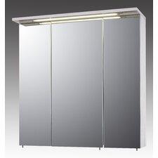 Melkor 70cm x 73cm Surface Mount Mirror Cabinet