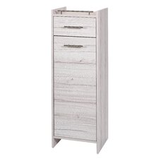Melkor 40.2 x 114.5cm Free Standing Tall Bathroom Cabinet