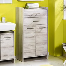 Melkor 65 x 114.5cm Free Standing Tall Bathroom Cabinet