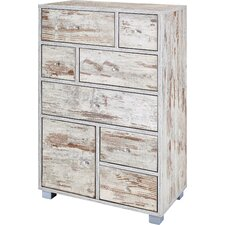Arubas 1 Door 10 Drawer Chest of Drawers