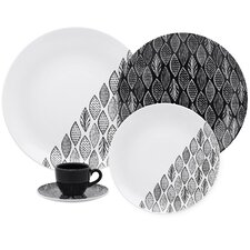 Coup 20 Piece Forest Dinnerware Set
