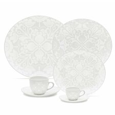 Coup 20 Piece Lace Dinnerware Set