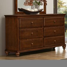 Allenport 6 Drawer Double Dresser by Simmons Casegoods