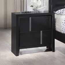 Buckhead 2 Drawer Nightstand