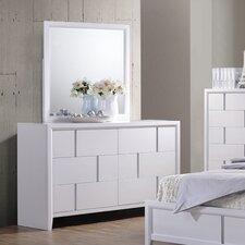 Buckhead 6 Drawer Dresser with Mirror