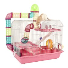 Hamster Cage in Pink