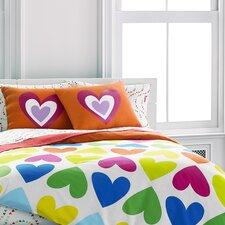 Bloom Hearts Comforter Set