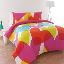 Flying Hearts Comforter Set