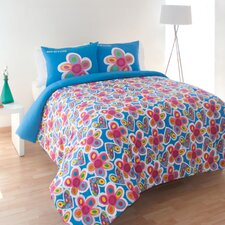 Hearts and Flowers Comforter Set