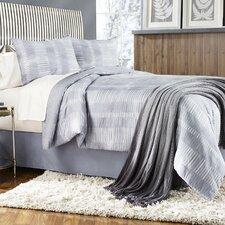 Grid Work 4 Piece Comforter Set