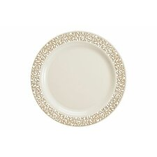 "Lace 7.5"" Plate (Set of 10)"