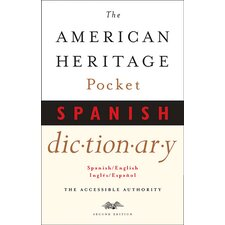 American Heritage Pocket Spanish Book (Set of 2)