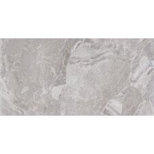 "Canyon 12"" x 24"" Porcelain Field Tile in Grey"