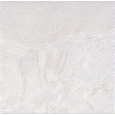 "Canyon 18"" x 18"" Porcelain Field Tile in White"