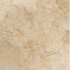 "Gala Travertino 3"" x 18"" Bullnose Tile Trim in Beige"