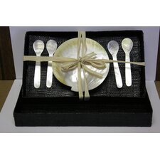 Mother of Pearl 5 Piece Caviar Place Setting