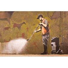 Acrylglasbild Nice Guy, Kunstdruck von Banksy