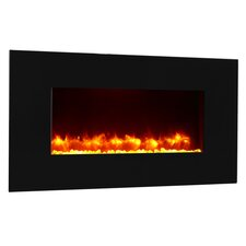 Remote Control Wall Mount Electric Fireplace