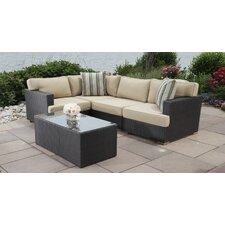 Salina 4 Piece Sectional Set with Cushions