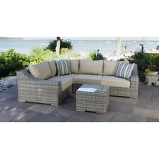 Corsica 4 Piece Sectional Set with Cushions
