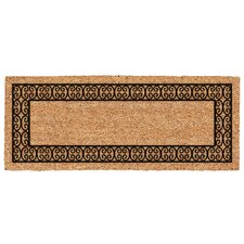 DeCoir Charleston Border Double Door Doormat