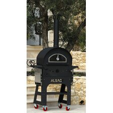 Alsace Authentic European Style Outdoor Wood-Fired Oven and Grill